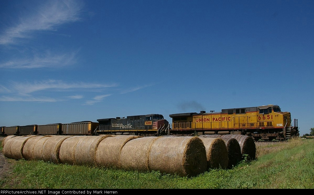 UP 6651 East
