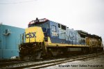 CSX 5930 with Red Marker lights!!!!