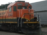 Cab shot of BNSF 2840