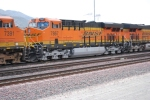 BNSF 7867 with two 7300 Series BNSF 7382 and BNSF 7391 pass me by as they roll east on Main 1 and enter Sullivans Curve.