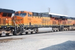 BNSF 7839 rolls back eastbound with a Z-Train after taking her yesterday evening at Cajon Junction, Ca going west.