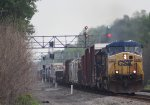 WB mixed freight