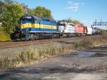 Westbound ethanol train