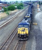 An eastbound coal drag