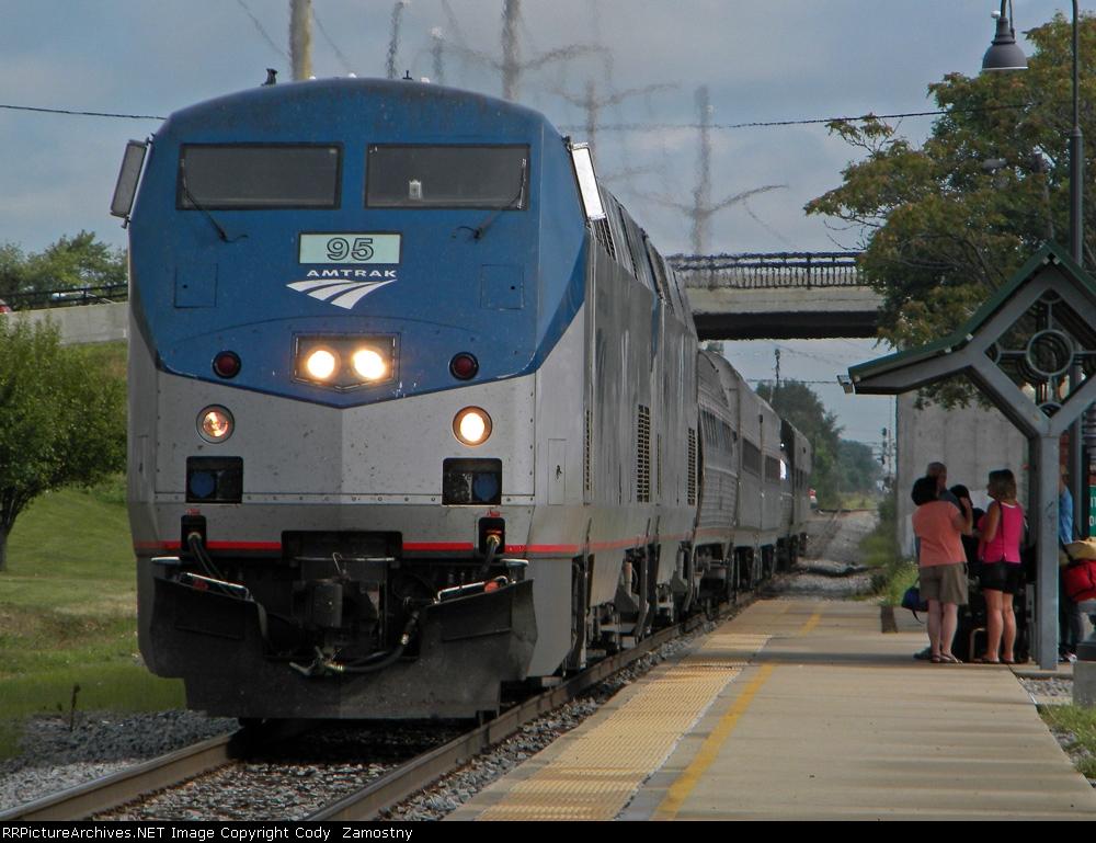 Amtrak 391, Illini