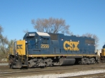 CSXT 2556 GP 38-2 At New River