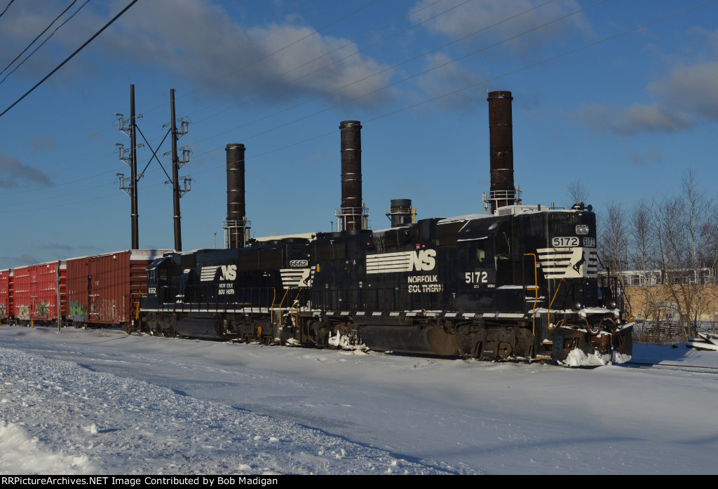 NS High Hood in the Snow