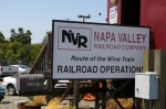 NAPA VALLEY RR SIGNS