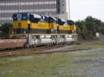 FEC Train 101, first run with FEC 102 and FEC 103