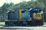 CSXT 6925 & 2284, in Gould Yard