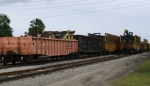 Tie Train Being Loaded In Rand Yard
