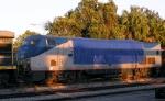 Amtrak/AMTK 50 after engine fire