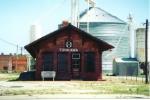 ATSF Depot July 4, 1998