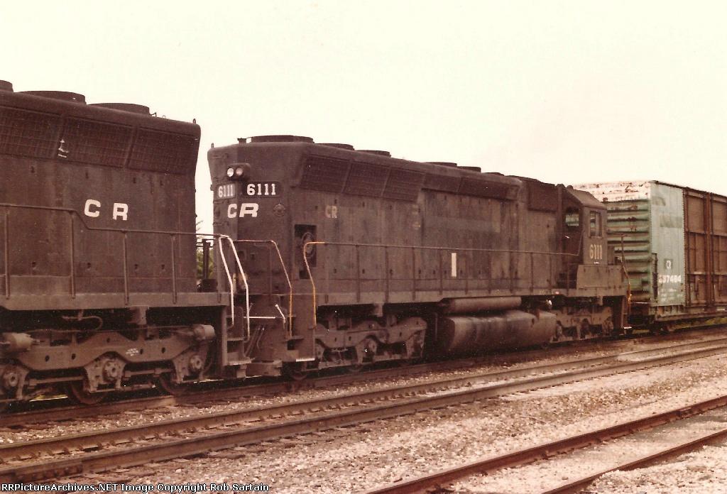 Conrail SD45 6111