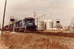 Conrail B23-7 at Teutopolis, IL