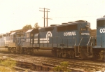 Conrail TV-5 westbound at Haley Tower