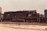 Conrail SD45 6167