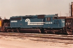 Remember when an SD40-2 was shiny?