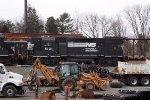 NS 5101 sitting in yard