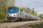 Amtrak Northeast Regional southbound