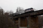 VRE V09 leading train #338