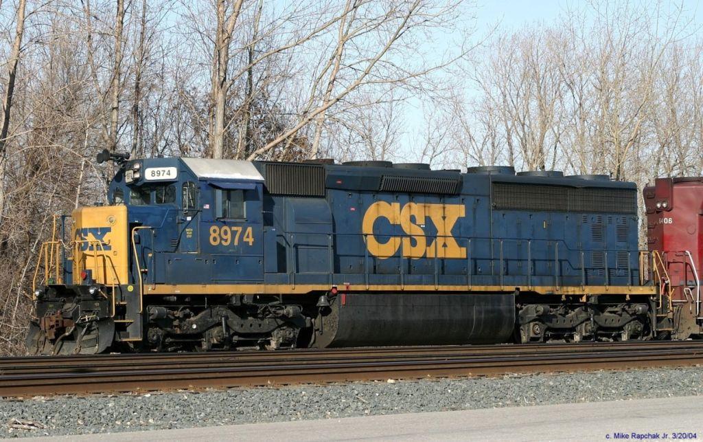 CSX SD45-2 8974