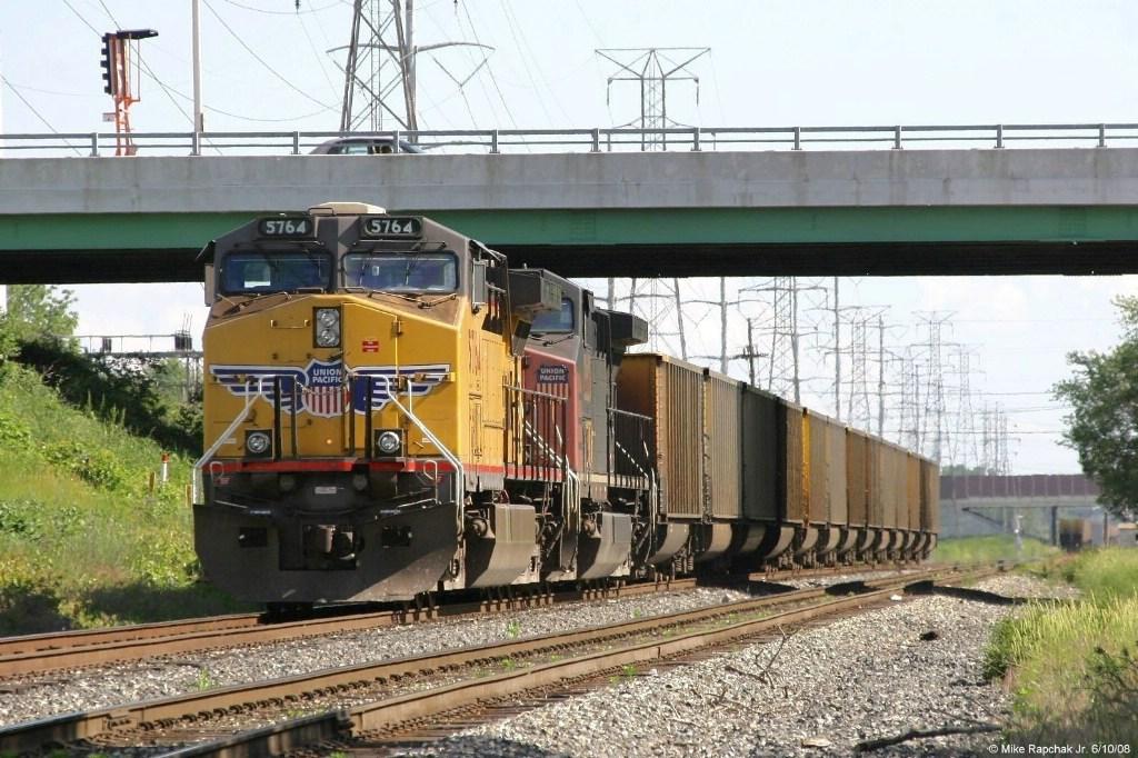 2-part UP Empty Coal Train