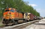 BNSF CW44-9 5451