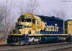 BNSF SD40U 6360