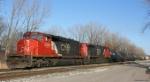 CN SD40-2W 5316