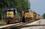 CSX/UP Freights