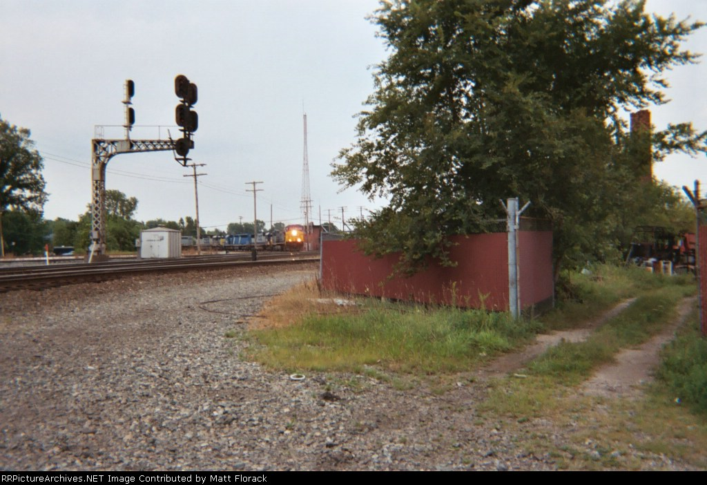 CSX train Q117