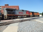 BNSF 738 and 4083
