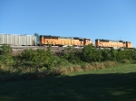 BNSF 9871 and 9855