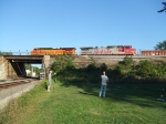 BNSF 4839 and 616
