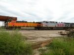 BNSF 5621 and KCS 4605