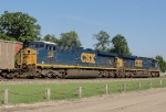 CSX 862 and 836