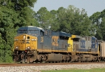 CSX 735 and 420