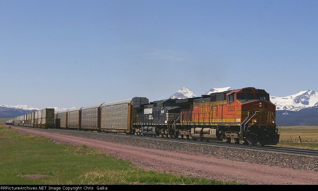 BNSF 5325E