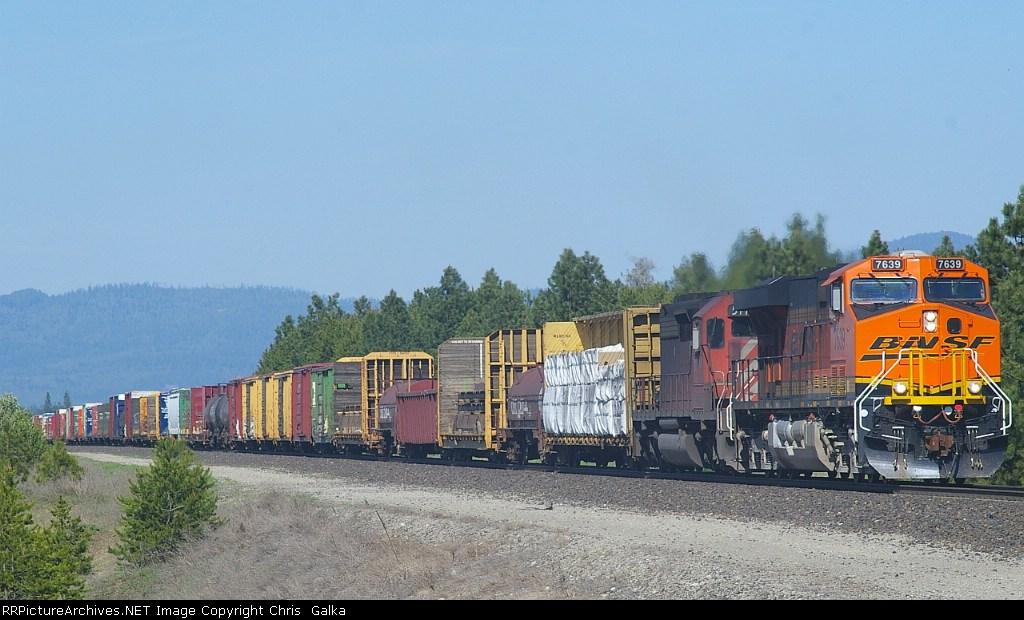 BNSF 7639W