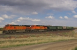BNSF 5095W west of not