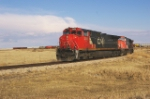 CN 2509 trailer of EB grain lifter at Louis Dreyfus elevator
