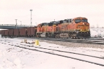 Eastbound taconite train