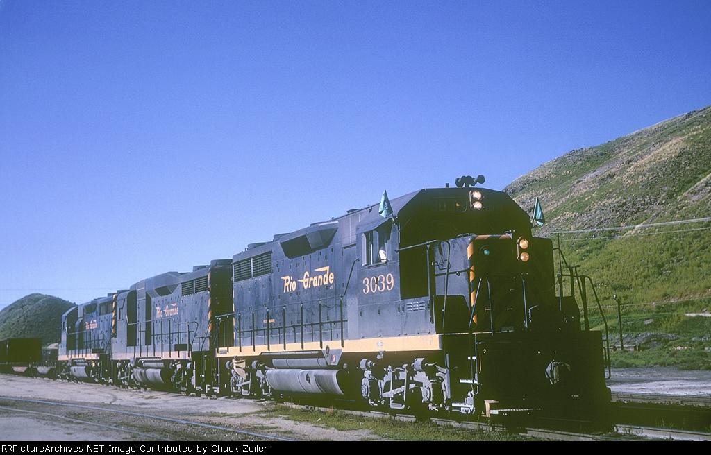 D&RGW GP35 3039