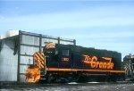 D&RGW GP40 3152