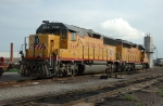 UPY 940 - UP 1429, Yard Slug S6-1B and EMD GP40-2 Slug Mother,