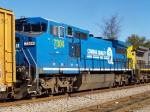 CSXT 7304/Conrail Paint