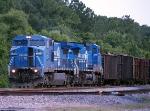 CSXT 7323/CSXT 7374/Conrail Paint