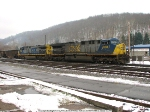 Empties departing Grafton for Cowen, W.Va