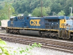 CSX 567 sitting in Grafton Yard